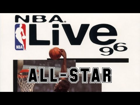 NBA Live 96 (1995) - PlayStation - Especial All-Star Game