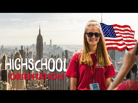 AIFS Highschool Orientation Days in New York City
