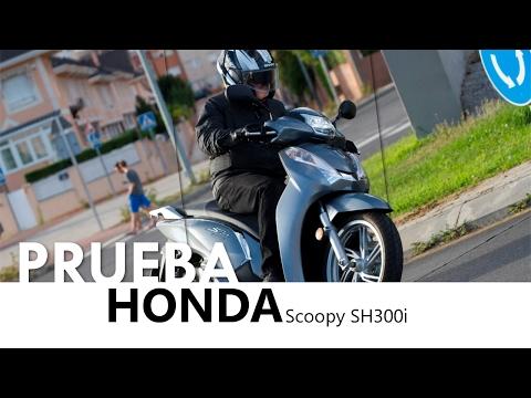 Honda Scoopy SH300i - videoprueba - castellano - 2016