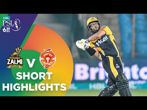 Short Highlights | Peshawar Zalmi vs Islamabad United | Match 10 | HBL PSL 6 | MG2T