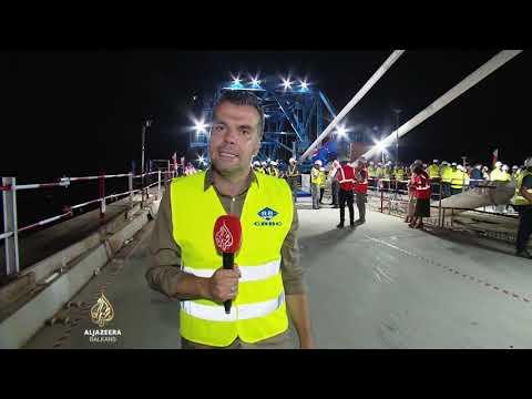 Spojen Pelješki most, otvaranje za putnike naredne godine