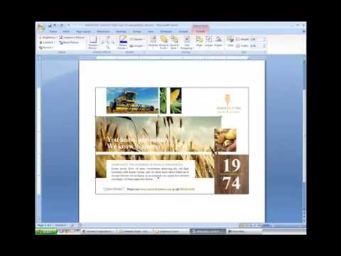 Editing Pictures and Graphics in Microsoft Word