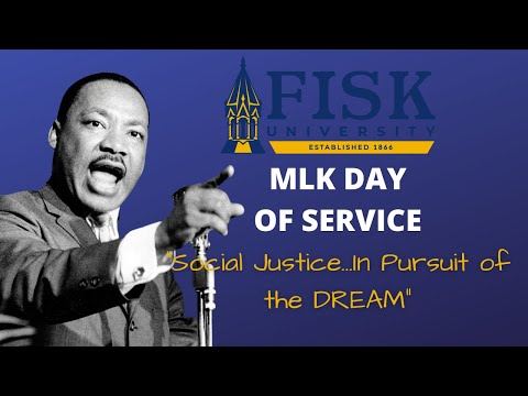 MLK Day of Service: Social Justice...In Pursuit of the DREAM