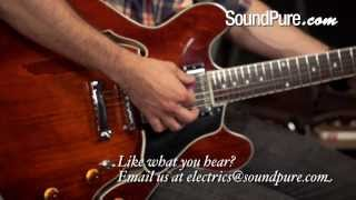 Eastman T386 Semi-Hollow Electric Guitar
