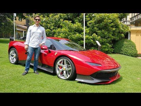 This is the ?4.0M Ferrari SP38 Deborah! WORLD DEBUT + Engine Sound [Sub ENG]