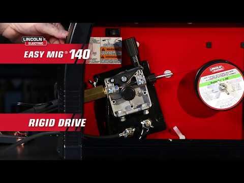 Lincoln Electric Easy MIG 140 Flux-Core/MIG Welder - 115V, 140 Amp, Model# K2697-1