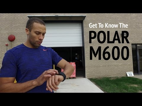 Track GPS, Heart Rate and More With the Polar M600 Sports Watch