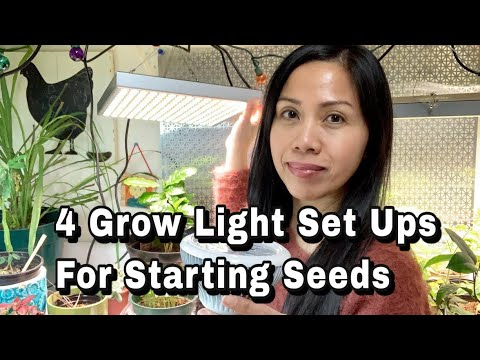 4 Grow Light Set Ups For Starting Your Seeds Indoors