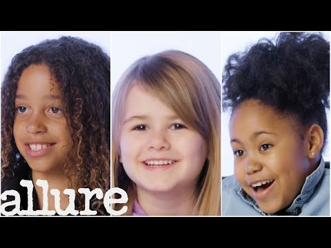 Girls Ages 5-18 Talk About Hair | Allure