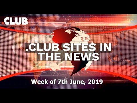 .CLUB Websites in the News – Week of June 7th, 2019