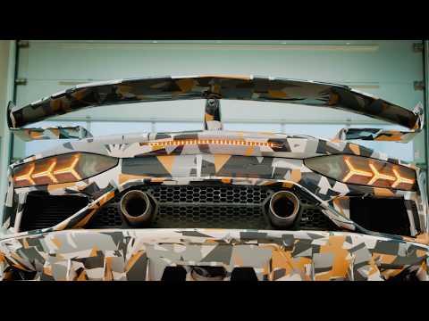 Aventador SVJ: designed to have the best Aerodynamic efficiency