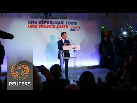 French primary is wide open, ex-PM Valls says as through to second round