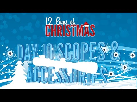 12 Guns of Christmas - Day 10: Scopes & Accessories