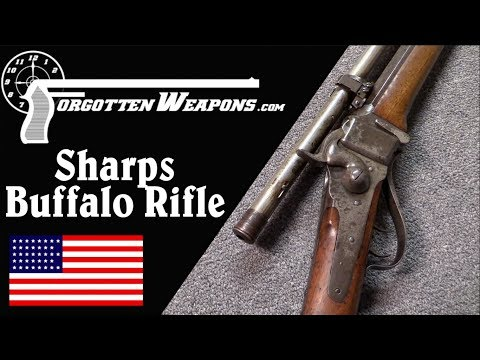 connectYoutube - Scoped Sharps 1874 Buffalo Rifle