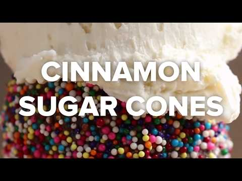 Dessert Cones 4 Ways