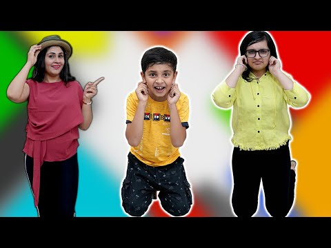 SIMON SAYS   Family Comedy Challenge   Saying Yes to mom, dad   Aayu and Pihu Show
