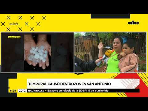 Temporal causó destrozos en San Antonio y familias urgen asistencia