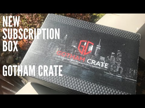 NEW SUBSCRIPTION BOX: Gotham Crate - Built With Law Enforcement, Military In Mind