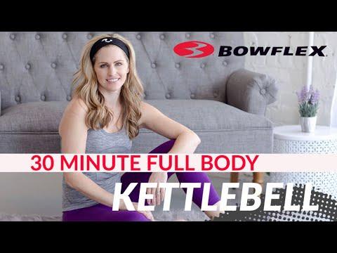 Live 30 Minute Full Body Kettlebell Workout