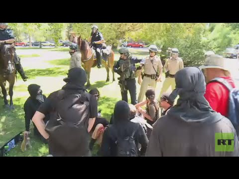 Multiple people stabbed during Sacramento far-right rally
