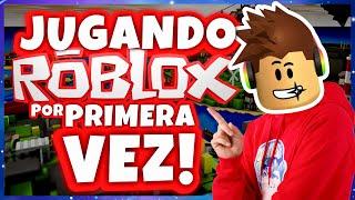 Travieso Gaming - JUGANDO ROBLOX POR PRIMERA VEZ EN MI VIDA!