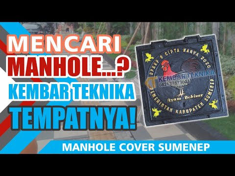 Manhole Cover Kabupaten Sumenep Desain Ikonik
