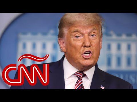 """Trump sobre la elección de EE.UU., sin sustento: """"Ganamos por cifras históricas""""   Míralo EN ESPAÑOL"""