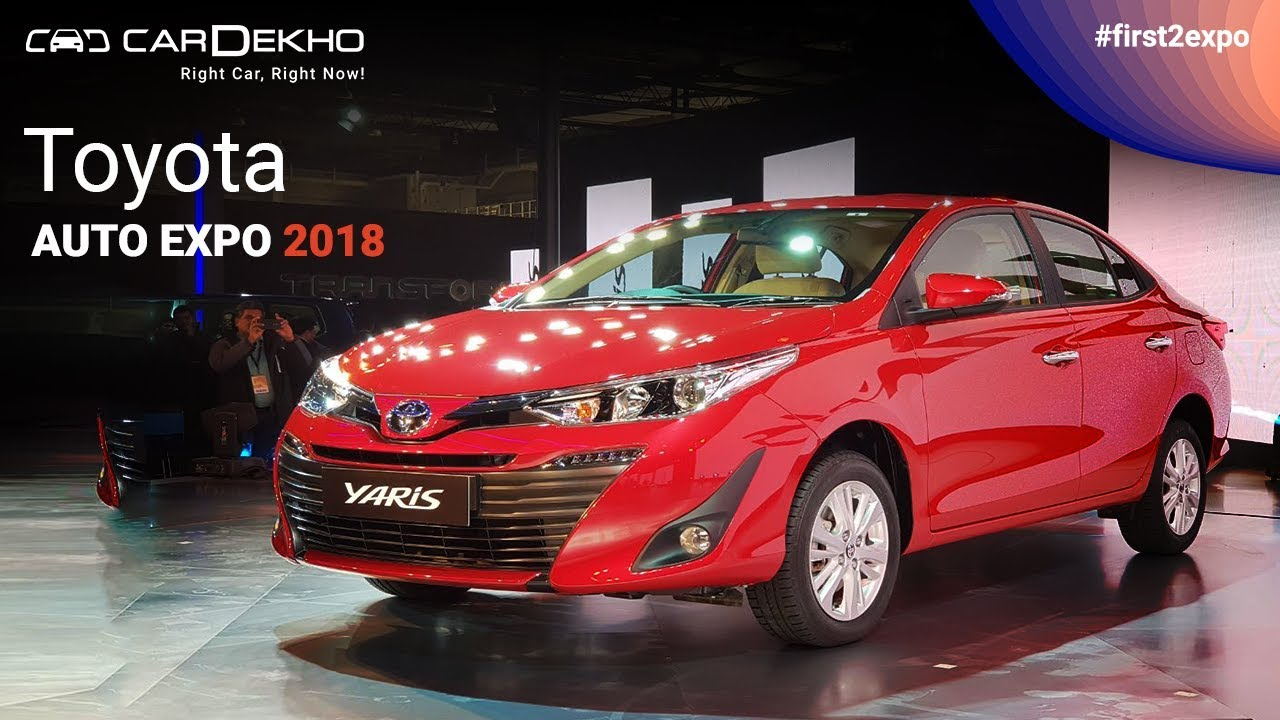 Toyota Yaris at Auto Expo 2018 | #First2Expo