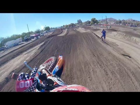 Shimoda and Vohland GoPro Onboard | 2015 TWMX Mini Major Throwback
