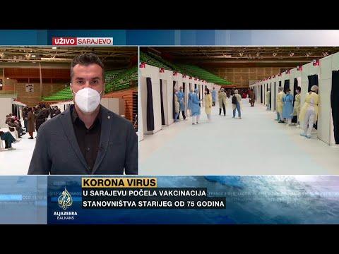 Sarajevo: Počela vakcinacija starijih od 75 godina