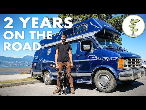2 Years Living & Traveling in a Van Changed The Course of His Life - Van Life