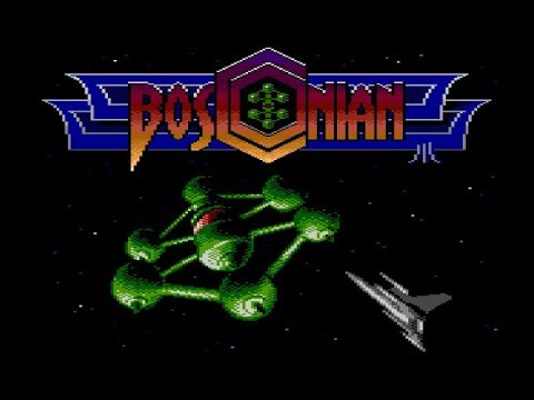 Bosconian for Atari 8-bit computers - final version