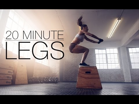 Best Thigh Exercises for Burning Fat (20 MIN LEGS!!)