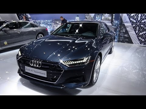 2018 Audi A7 Sportback - Exterior and Interior - Auto Show Brussels 2018