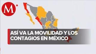 11 estados han aumentado su movilidad a pesar de covid-19