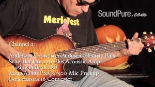 Anderson Crowdster Acoustic Electric Plus Guitar Demo