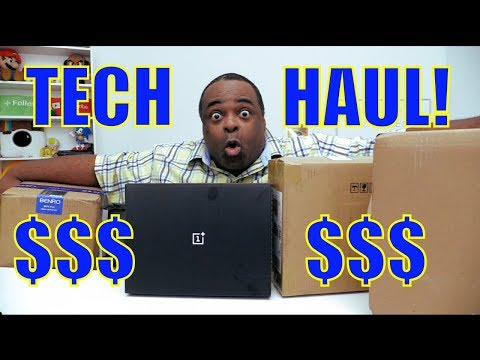 REALLY EXPENSIVE Final Tech Haul! [2017]