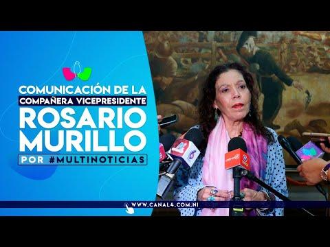 Comunicación Compañera Rosario Murillo, 13 de octubre de 2021