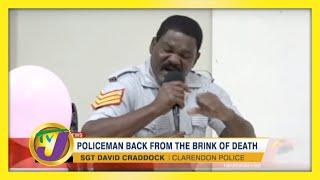 Policeman back From the Brink of Death - January 6 2021