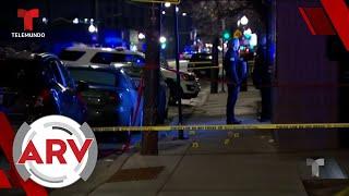 Hombres armados abren fuego dentro de una barbería de Chicago   Al Rojo Vivo   Telemundo