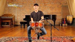 Craviotto 5.5x14 Private Reserve Padauk Custom Snare Drum—Quick 'n' Dirty