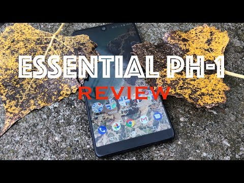 ESSENTIAL PHONE  ONE WEEK REVIEW ( it was love at first sight )