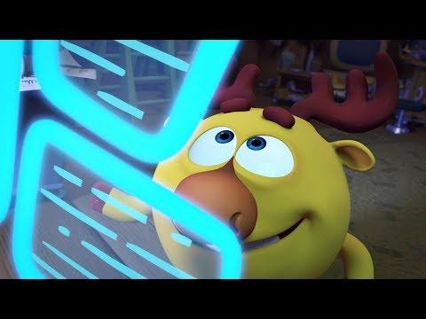 Кадр из мультфильма «Пин-код. Прыжок в будущее. Двигатель прогресса»