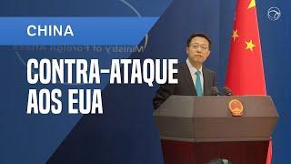 CHINA PROMETE CONTRA-ATAQUE AOS EUA