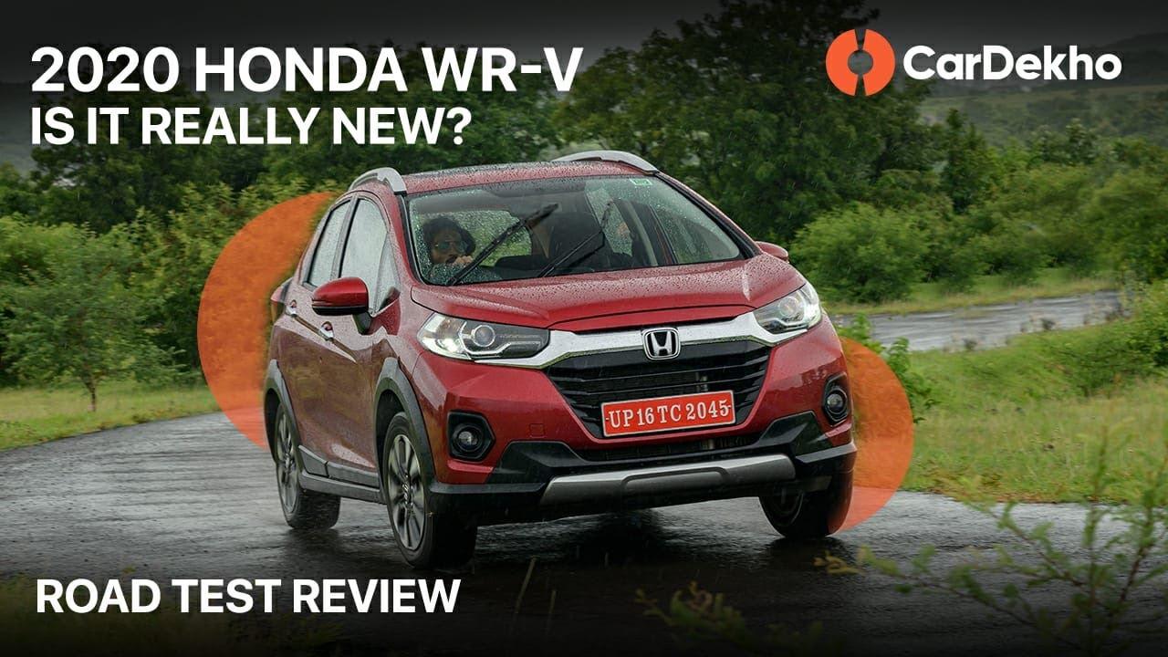 (हिन्दी) 2020 🚗 Honda WR-V Road Test Review | पहले से बेहतर? | CarDekho.com