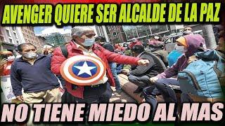 Iván Arias se disfraza de Avenger para ser Alcalde de La Paz - No tiene miedo al MAS