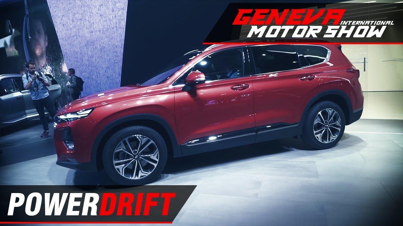 ഹുണ്ടായി സാന്റാ ഫെ - ഐഎസ് it better now? : geneva motor show 2018 : powerdrift