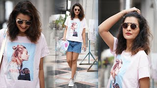 Actress Payal Rajput Spotted Outside METRO | Celebrities Spotted Outside | TFPC - TFPC