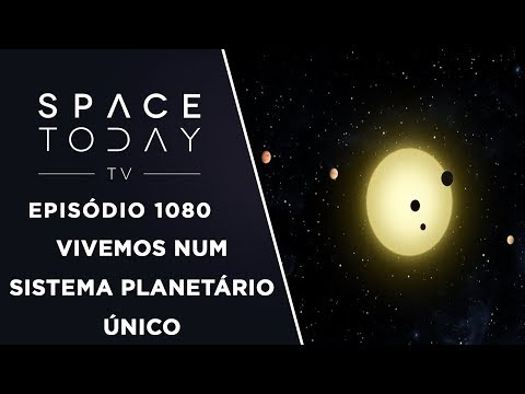 connectYoutube - Vivemos Num Sistema Planetário Único - Space Today TV Ep.1080