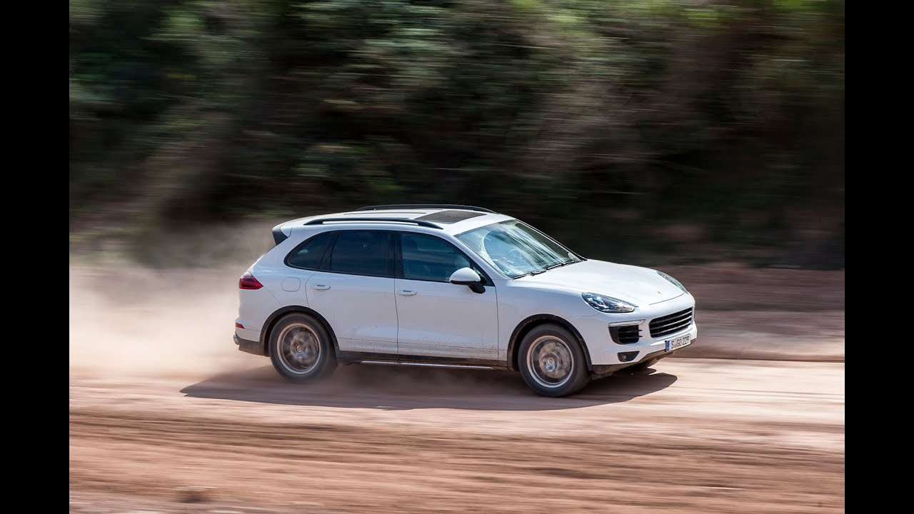 New Porsche Cayenne S Diesel driven